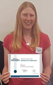 Congratulations Hazel – Level 1 Pathways