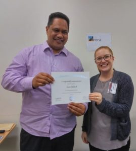 Congratulations Zaine – Competent Communicator
