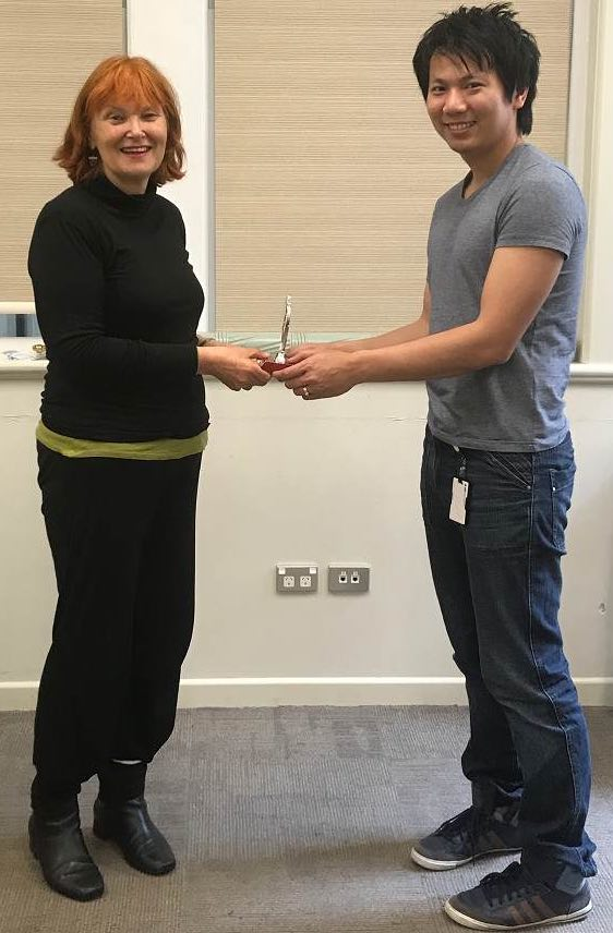 Congratulations Linn Zaw Win- Toastmaster of the day 24th Oct