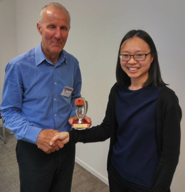 Congratulations Peter – Toastmaster of the day