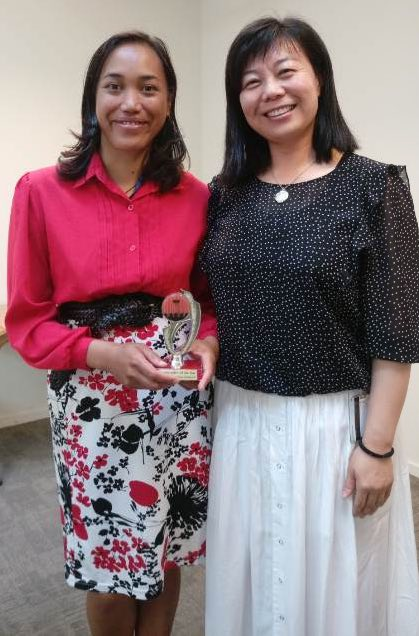 Congratulations Melissa – Toastmaster of the day