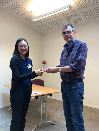Congratulations Sue – Toastmaster of the Day