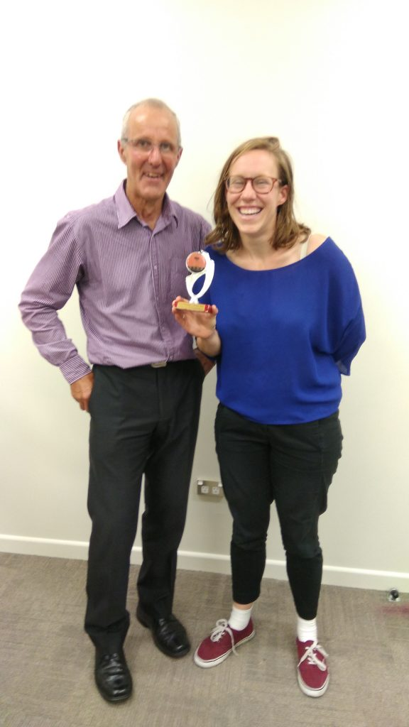 Congratulations Callie – Toastmaster of the Day