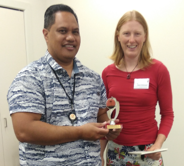 Congratulations Zaine Toastmaster of the day
