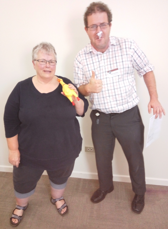 Congratulations Ruth – Toastmaster of the day