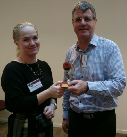 Congratulations Suzanne – Toastmaster of the Day