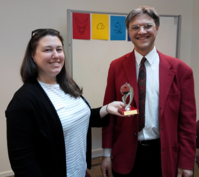 Congratulations to Nicole – Toastmaster of the day