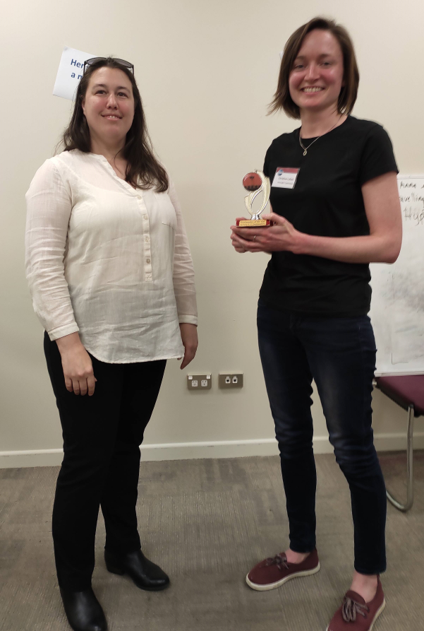 Congratulations to Christina – Toastmaster of the day