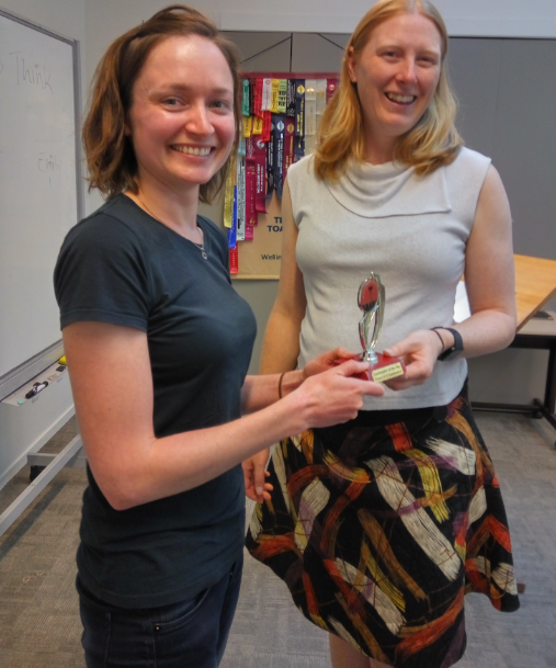 Congratulations Christine – 2xToastmaster of the day
