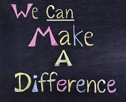 Image result for we can make a difference