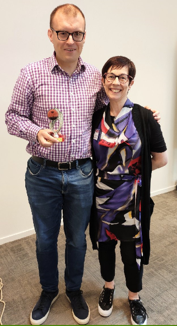 Congratulations to Thomas – Toastmaster of the day