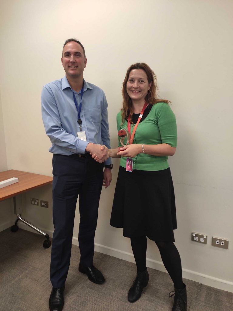Congratulations Sanja – Toastmaster of the day