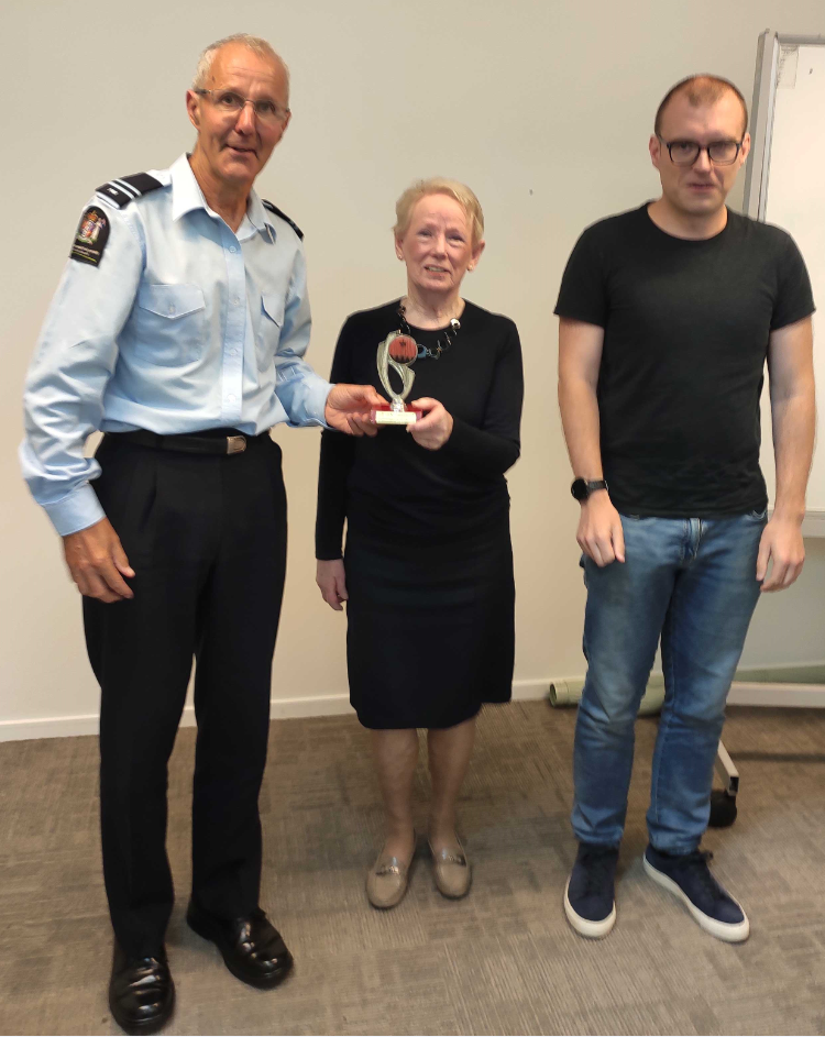 Congratulations Peter & Pauline – joint Toastmasters of the day